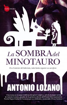 Portada del libro La sombra del Minotauro