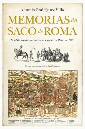 Portada del libro Memorias del Saco de Roma