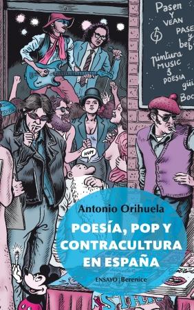 Portada del libro Poesía, pop y contracultura en España
