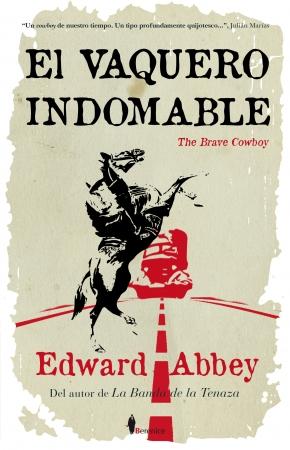 Portada del libro El vaquero indomable (The brave cowboy)