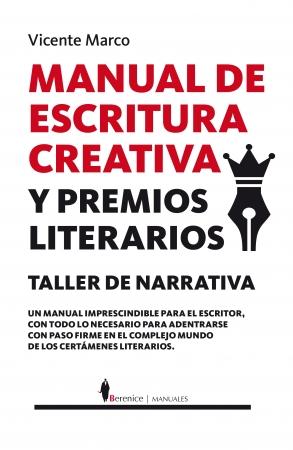 Portada del libro Manual de Escritura Creativa y Premios Literarios