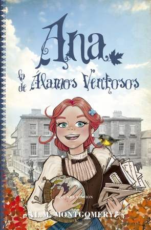 Portada del libro Ana, la de Álamos Ventosos