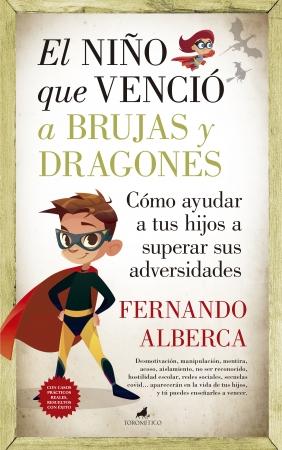 Portada del libro El niño que venció a brujas y dragones