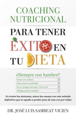 Portada del libro Coaching nutricional para tener éxito en tu dieta