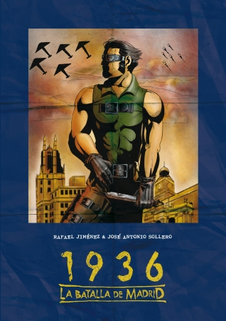 Portada del libro 1936, la batalla de Madrid