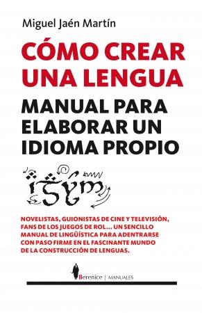 Portada del libro Cómo crear una lengua