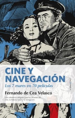 Portada del libro Cine y navegación. Los siete mares en setenta películas