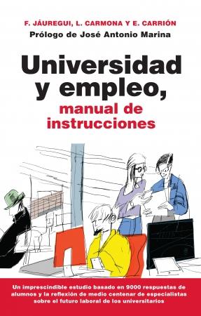 Portada del libro Universidad y empleo, manual de instrucciones