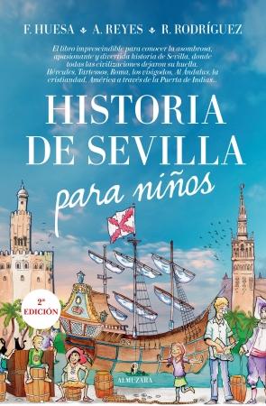 Portada del libro Historia de Sevilla para niños