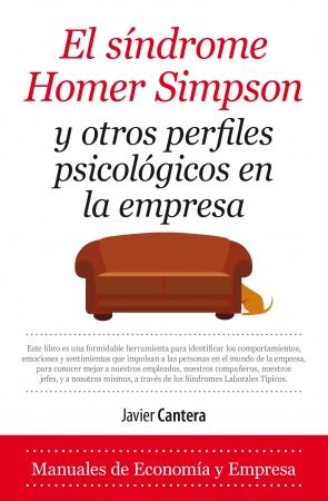 Portada del libro El síndrome de Homer Simpson y otros perfiles psicológicos en la empresa