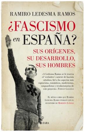 Portada del libro ¿Fascismo en España?