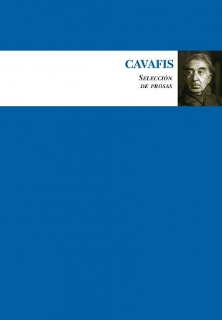 Portada del libro Cavafis (Selección de prosas)