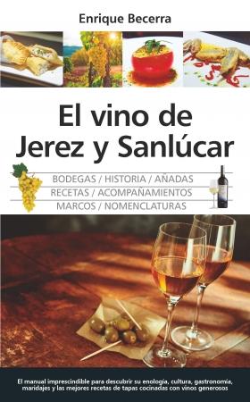 Portada del libro El vino de Jerez y Sanlúcar