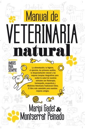 Portada del libro Manual de veterinaria natural