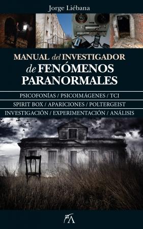 Portada del libro Manual del investigador de fenómenos paranormales