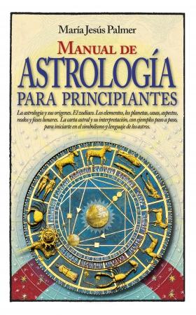 Portada del libro Manual de astrología para principiantes
