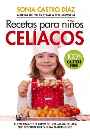 Portada del libro Recetas para niños celíacos