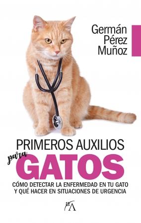 Portada del libro Primeros auxilios para gatos