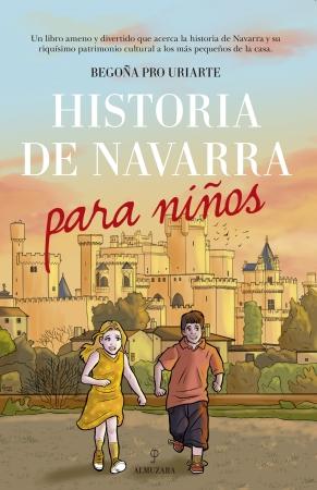 Portada del libro Historia de Navarra para niños