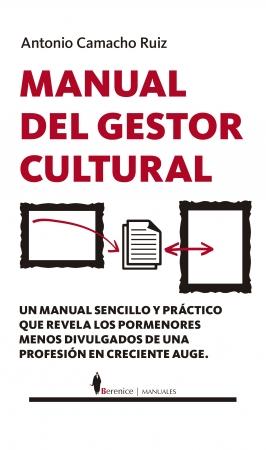 Portada del libro Manual del Gestor Cultural