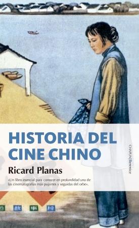 Portada del libro Historia del cine chino