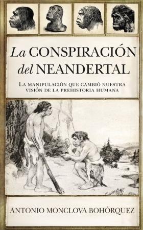 Portada del libro La conspiración del neandertal