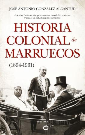 Portada del libro Historia colonial de Marruecos