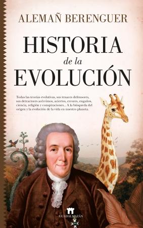 Portada del libro Historia de la evolución