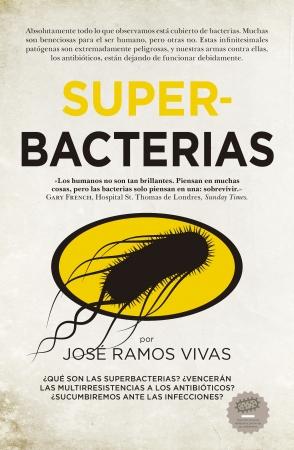 Portada del libro Superbacterias