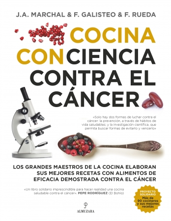 Portada del libro Cocina con ciencia contra el cáncer