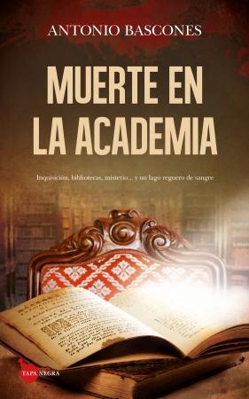 Portada del libro Muerte en la Academia