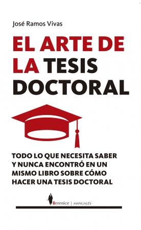 Portada del libro El arte de la tesis doctoral