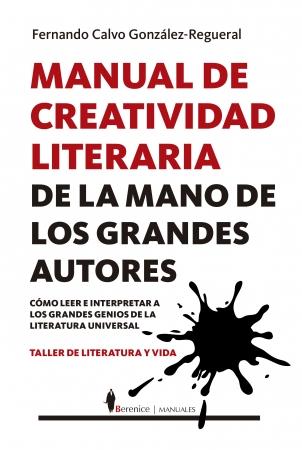 Portada del libro Manual de creatividad literaria de la mano de los grandes autores