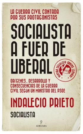 Portada del libro Socialista a fuer de liberal