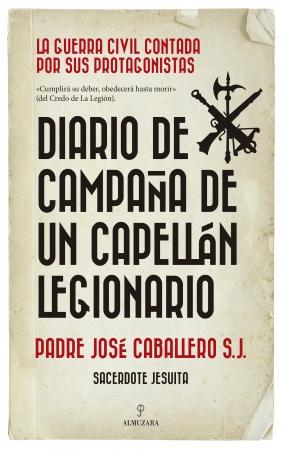 Portada del libro Diario de campaña de un capellán legionario