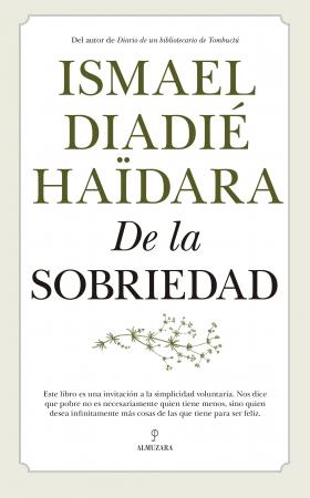 Portada del libro De la sobriedad