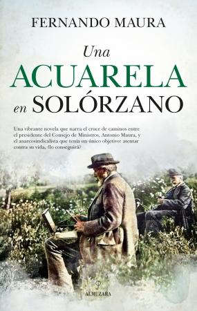 Portada del libro Una acuarela en Solórzano