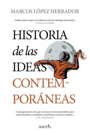 Portada del libro Historia de las ideas contemporáneas