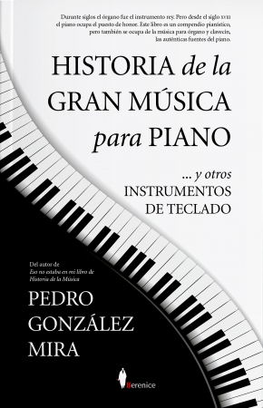 Portada del libro Historia de la gran música para piano
