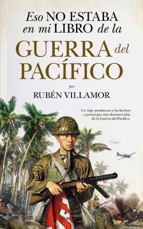 Portada del libro Eso no estaba en mi libro de la guerra del Pacífico