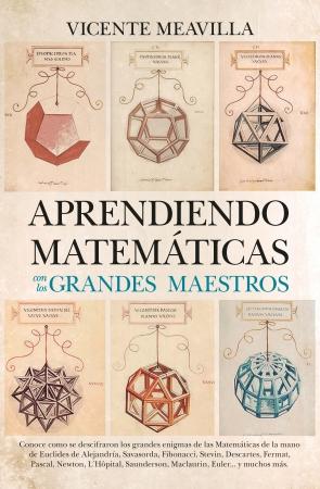 Portada del libro Aprendiendo matemáticas con los grandes maestros