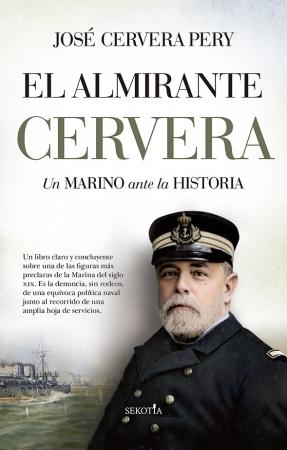 Portada del libro El almirante Cervera
