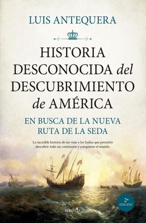 Portada del libro Historia desconocida del descubrimiento de América
