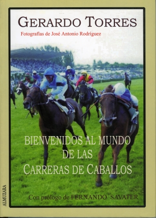 Portada del libro Bienvenido al mundo de las carreras de caballos