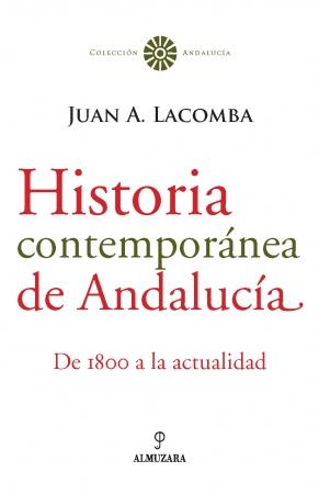 Portada del libro Historia contemporánea de Andalucía