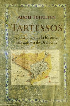 Portada del libro Tartessos. Contribución a la historia más antigua de Occidente
