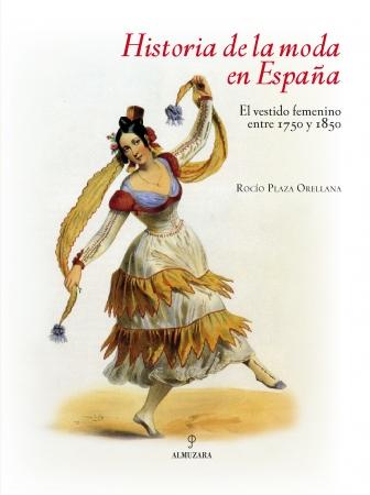 Portada del libro Historia de la moda en España