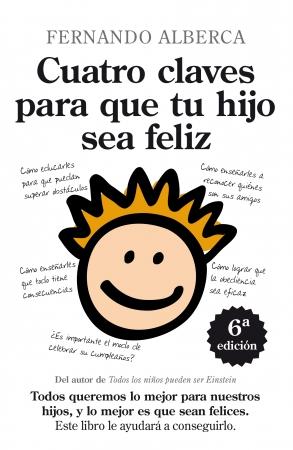 Portada del libro Cuatro claves para que tu hijo sea feliz