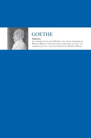 Portada del libro Narrativa-Goethe