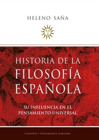 Portada del libro Historia de la Filosofía española